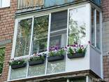 Французское, панорамное остекление балкона цена, рассрочка - фото 4
