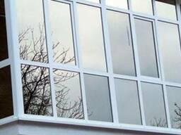 Французское, панорамное остекление балкона цена, рассрочка - фото 8