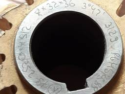 Фреза червячная шлицевая прямобочная D8х32х36 ГОСТ8027-86
