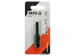 Фреза циліндрична по металу YATO 12 мм з шпінделем 6 мм