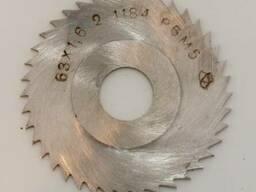 Фреза дисковая отрезная 63х1,6, вн. д. 16мм, Р6М5