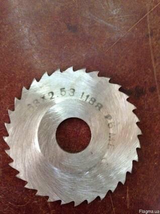 Фреза дисковая отрезная 80x1,2