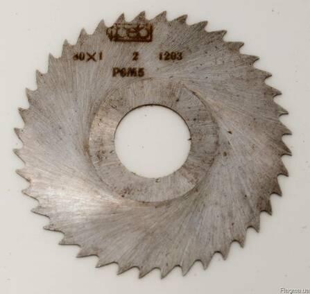 Фреза дисковая отрезная 80х1,0, вн. д. 22мм, Р6М5