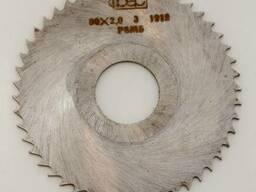 Фреза дисковая отрезная 80х2, вн. д. 22мм, Р6М5