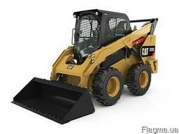 Фреза дорожная CAT PC205B на погрузчике CAT 242 D