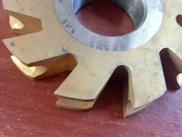 Фреза фасонная радиусная вогнутая Ф80 R4 Р6М5 0106