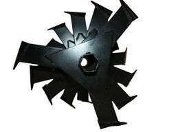 """Фреза гусиные лапки для мотоблока """"Zirka - 105"""" 5 секций"""