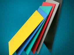 Фрезерная порезка цветного ПВХ
