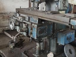 Фрезерный станок Ф2–250 рабочий, фрезер распродажа оборудования