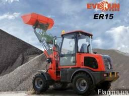 Фронтальный мини-погрузчик Everun ER15 Wiellader
