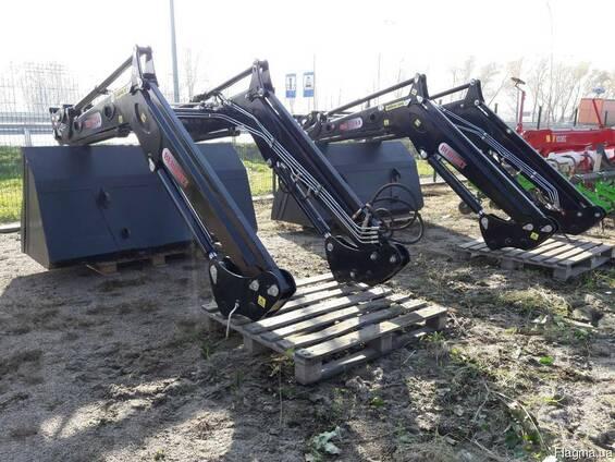 Фронтальный погрузчик на Т-40 трактор фирмы Beromet