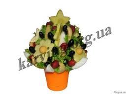 Фруктовый букет, Букет из фруктов и овощей, Съедобные букеты - фото 6