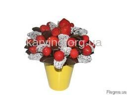 Фруктовый букет, Букет из фруктов и овощей, Съедобные букеты - фото 7