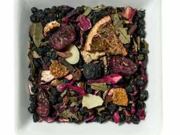 Чай с ягодами черники, бузины, брусники Ягодная галактика. ..