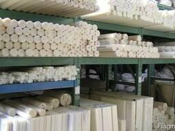 Фторопластовые стержни и листы по доступной цене.