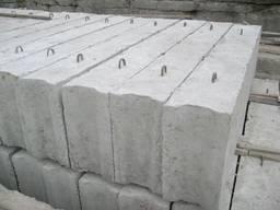 Фундаментные блоки 24. 4. 6т, ФБС, доставка на объекты