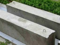 Фундаментные блоки ФБС 12. 4. 6Т В25, 1185 x 400 x 580мм