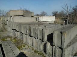 Фундаментные блоки и плиты
