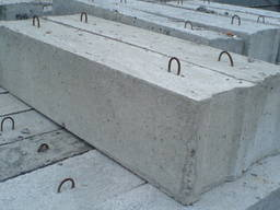 Фундаментный блок 12. 4. 6 1200х400х600