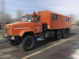 Фургон ФПВ-16606 (Автомастерская) на базе шасси КрАЗ-63221