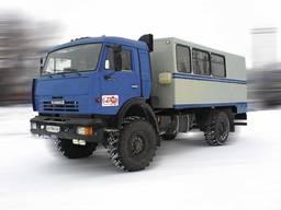 Фургон ФПВ-24415(Вахтовка) на базе шасси КАМАЗ-4326