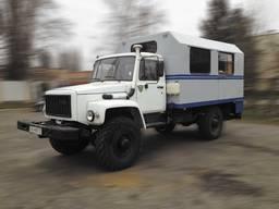 Фургон ФПВ-34406 (вахтовка) на базе шасси ГАЗ-33081