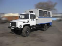 Фургон ФПВ-34411 (вахтовка) на базе шасси ГАЗ-33081