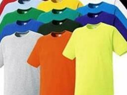 Футболка х/б (цветовая гамма в ассортименте)