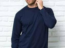 Мужская футболка с длинными рукавами