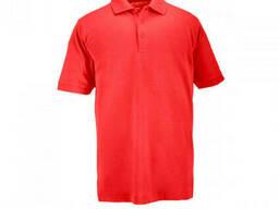 Поло тактическое с коротким рукавом 5.11 Tactical Professional Polo красное