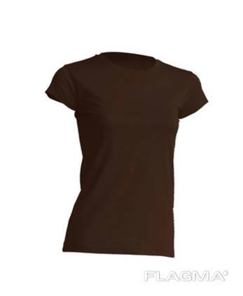 Футболка жіноча колір коричневий