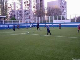 Футбольное поле, построить Украина