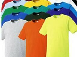 Футболки х\б, цвета в ассортименте