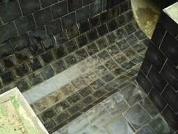 Футеровка канализационных лотков