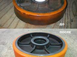 Футеровка валов, колес, барабанов