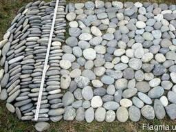 Галька речная (гравий или галечник) это каменистая обломочна