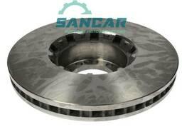 Гальмівний диск Renault Midlum вентильований (328Х34мм)