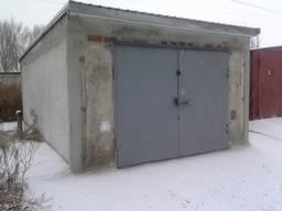 Гараж бетонный сборный железобетонный 4х6 м