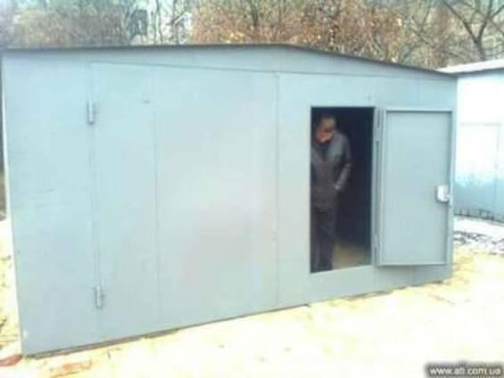 Гараж металлический разборной купить в донецке купить гараж комсомольск на амуре