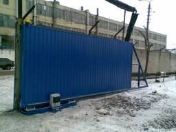 Гаражные и промышленные ворота Алютех, Дорхан