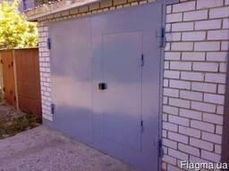 Ворота гаражные металлические и кованые Изготовление