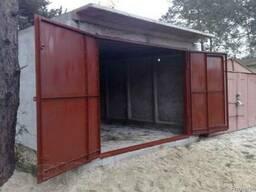 Гаражные ворота из металла 3мм