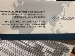 Гардиан страховка для пересечения границы и открытия визы
