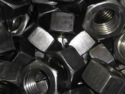 Гайка шестигранная Гост 5915-70 черная в ассортименте м6-м24