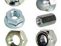 Гайка баранцева сталева оцинкованна М 3-24 DIN 315