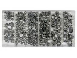 Гайки М3- М10 нержавіючі YATO в пластиковій коробці; наб. 300 шт.