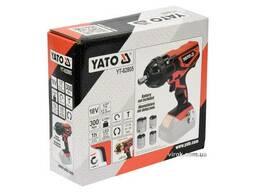 Гайковерт ударний акумуляторний YATO 18 В 300 Нм + 4 насадки (без акумулятора і. ..