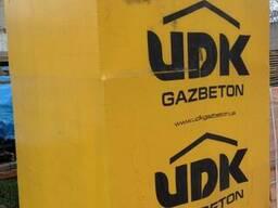 Газобетон UDK и шлакоблок