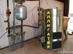 Газогенераторный отопительный котел Аллигатор
