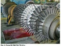 Газовая турбина ГТ , ГТК запасные части